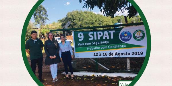 Semana SIPAT do incubatório Cruzeiro Agroavicola
